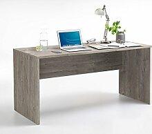 Schreibtisch, Bürotisch, Tisch, Ablage, Arbeitstisch, PC-Tisch, Arbeitsplatz, Computertisch, Büro-Arbeitsplatz, Sandeiche Nachbildung