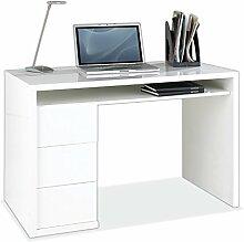 Schreibtisch Computertisch Arbeitstisch | Weiß