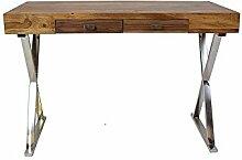 Schreibtisch Downtown Massivholz Sheesham 115 cm