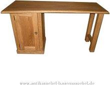 Schreibtisch Eiche Massivholz Gründerzeit