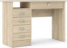 Schreibtisch Fula Eiche Struktur Dekor Tisch