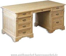 Schreibtisch Gründerzeit Massivholz Bürotisch