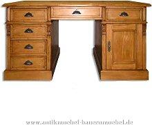 Schreibtisch Landhausmöbel Vollholz Massiv