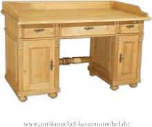 Schreibtisch Landhausstil Bauernmöbel Massivholz