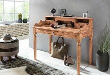 Schreibtisch Massivholz Akazie  Sekretär 115 x