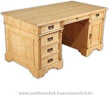 Schreibtisch Massivholz Gründerzeit Bürotisch