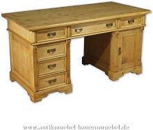 Schreibtisch Massivholz Landhausstil Gründerzeit