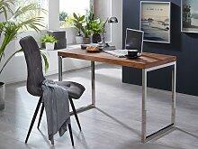 Schreibtisch Massivholz Sheesham Computertisch 120