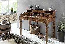 Schreibtisch Massivholz Sheesham  Sekretär 115 x