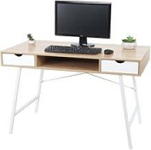 Schreibtisch MCW-E92, Bürotisch Computertisch,