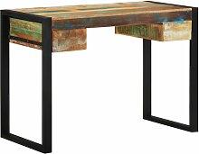 Schreibtisch mit 2 Schubladen 110x50x77cm