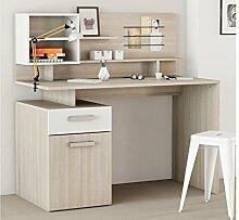 Schreibtisch mit Aufsatz Computertisch Bürotisch