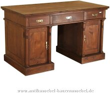 Schreibtisch mit Saülen Landhausstil Gründerzeit
