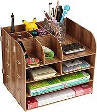 Schreibtisch Organizer Holz Bürobedarf