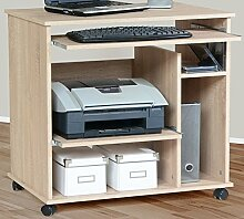 Schreibtisch PC-Tisch Sonoma Eiche Computertisch