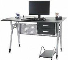 Schreibtisch schwarz Bürotisch Computertisch