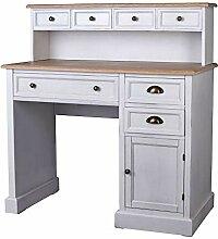 Schreibtisch Shabby Chic Computertisch Schreibpult