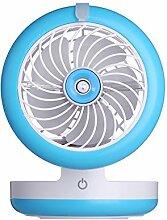 Schreibtisch Ventilator, Mini Ventilator, Blau