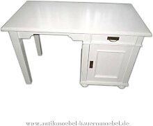 Schreibtisch weiß Lackiert Landhausstil