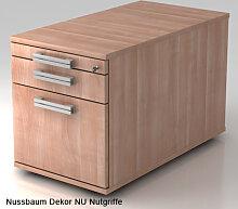 Schreibtischcontainer Hammerbacher Solid 1HR Tiefe