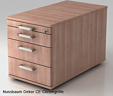 Schreibtischcontainer Hammerbacher Solid 3S Tiefe