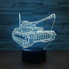 Schreibtischdekorationen 3D-Lampe Nachtlicht Coole