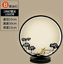 Schreibtischlampe Nachttischlampe Chinesische