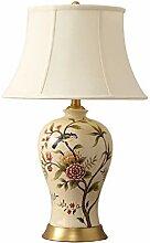 Schreibtischlampe Nachttischlampe Keramik Lampe