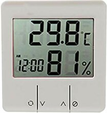 Schreibtischthermometer Mit Wecker, Elektronischem