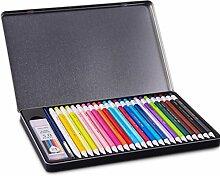 Schreibwaren 24 Farbige Smart Whater Farbstifte