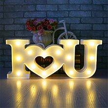 Schriftzug Love, Funpa Liebe Licht Zeichen Led