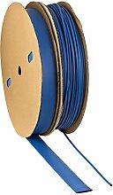 Schrumpfschlauch 2:1 blau Auswahl aus 10 Größen und 6 Längen Meterware von ISO-PROFI® (hier: Ø15mm - 5 Meter)