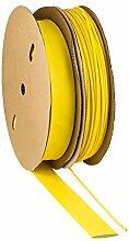 Schrumpfschlauch 2:1 gelb Auswahl aus 10 Größen und 6 Längen Meterware von ISO-PROFI® (hier: Ø30mm - 10 Meter)