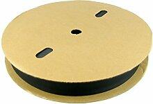 Schrumpfschlauch Rolle Rollenware in Auswahl 1mm bis 40mm Durchmesser - hier: ø10mm - 100m Rolle