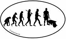 Schubkarre Baustelle Bau Bauarbeiter EVOLUTION