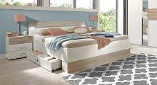 Schubkasten-Bett Kormoran Bett mit Bettkasten
