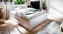 Schubkasten-Bett Ottena Massivholzbett stabil