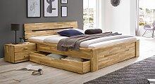 Schubkasten-Bett Sumak Bett mit Bettkasten 140x200