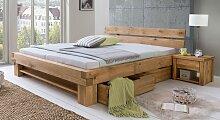Schubkasten-Bett Tomba Bett mit Bettkasten 140x200