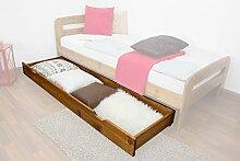 Schublade für Bett - Kiefer Vollholz massiv