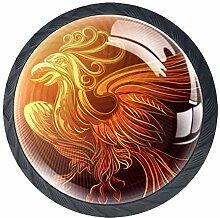Schublade zieht Griffe Golden Phoenix Schrank