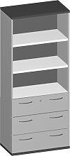 Schubladen-Büroregal Pendo Vari Edo 5 OH 3S 100 x