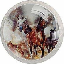 Schubladengriffe aus Kristallklarem Glas, mit