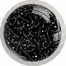 Schubladengriffe mit Sternzeichen-Sternzeichen,