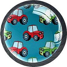 Schubladenknauf, 35 mm, Glas, für Auto, Traktor,