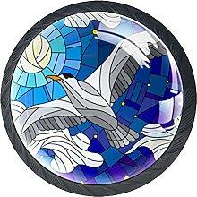 Schubladenknöpfe Möwe Mosaik Schrank Schublade