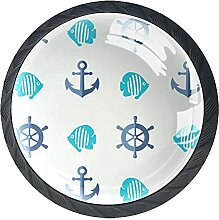 Schubladenknöpfe Navigationskollektion Schrank