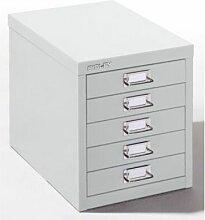Schubladenschrank - 5 Schubladen für Format DIN