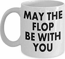 Schürhaken-Kaffeetasse-lustiges Sprichwort kann