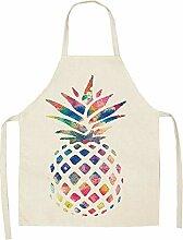 Schürze Kochen Malerei, kreative Pflanze Obst